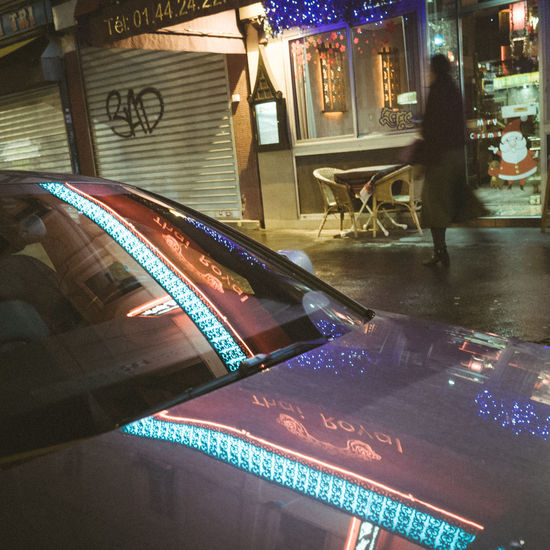 Nightphotography Reflection City Neon Ricoh Gr Streetphotography