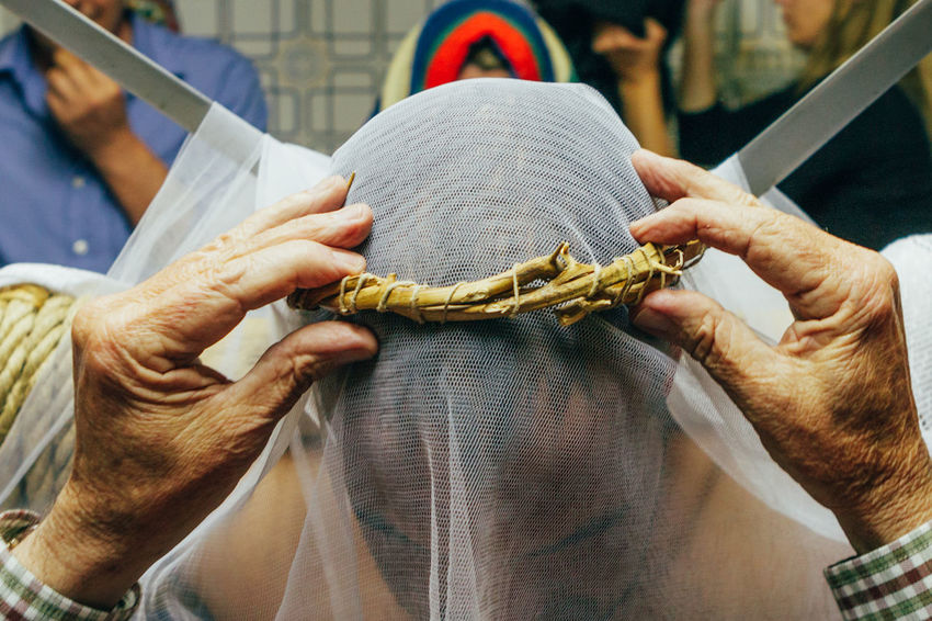 """ritual of penance """"los empalaos"""" Self Punishmen Christianity Cross Crown Of Thorns Extremadura Faith Holy Thursday Religion And Tradition Ritual SPAIN Tradition Belief Catholicism Editorial  Empalaos Expiation Faithful Kneeling Los Empalaos Penitence Procession Religion Religion And Beliefs Rite The Week On EyeEm The Photojournalist - 2018 EyeEm Awards"""