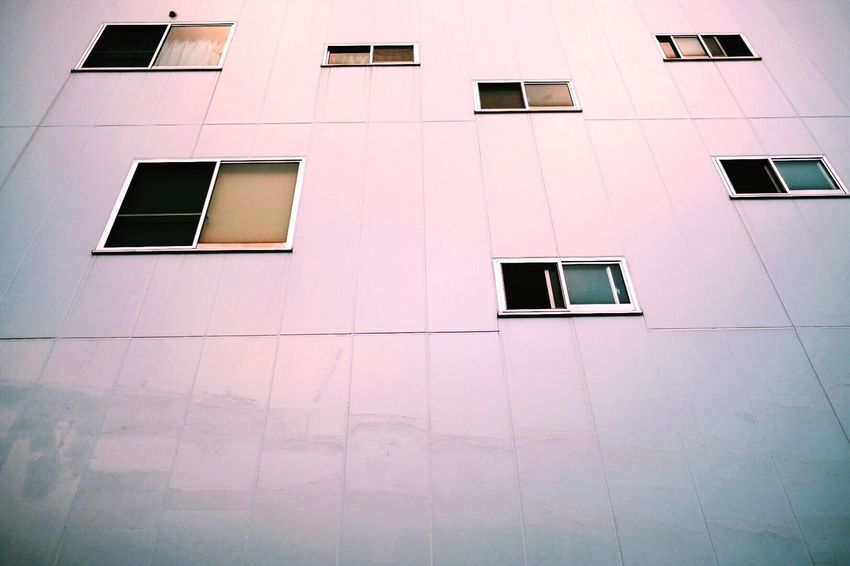 Window Architecture Building Exterior Built Structure Repetition Low Angle View In A Row Day Full Frame No People EyeEm Street Photography Minimal Minimalism Composition Framing Design Contemporary Photography Photo Streetculture Vscocam