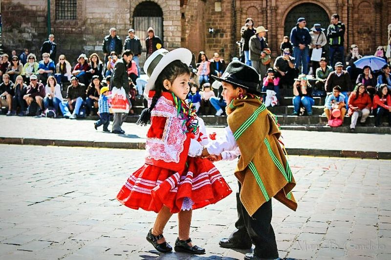 Peru Children Playing Kids Happy Travel Trip Wolrd