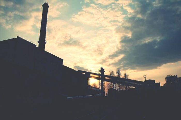 Sky Built Structure Cloud - Sky Architecture No People Outdoors City Kato  Katowice Vscokato Cityscape Architecture Industrial Photography Industrial Industrial Landscapes Oldmine Mine