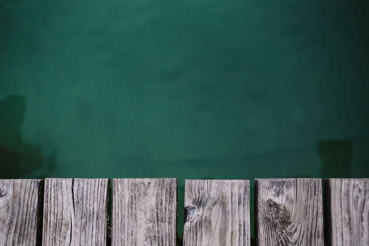 Wörthsee, München Afternoon Green Pier Wood Activity Close-up Day Green Color Lake No People Outdoors Pattern Springtime Turquoise Colored Water Wet Wood - Material Wood Pattern