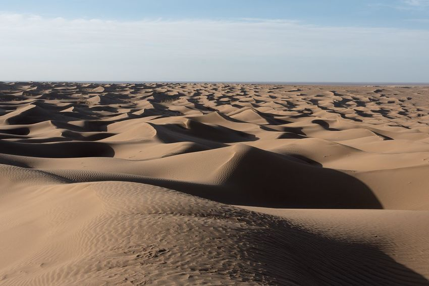 Sand Land Sky Scenics - Nature Desert Tranquil Scene Sand Dune Horizon Beauty In Nature Tranquility No People