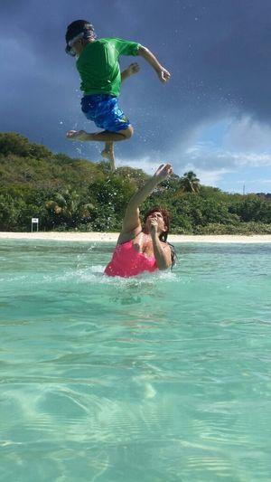 ...happy birthday on the beach...5/6 Life Is A Beach Enjoying The Sun Islandlifewith Yadira@sexyP Isla Culebra ,Puerto Rico