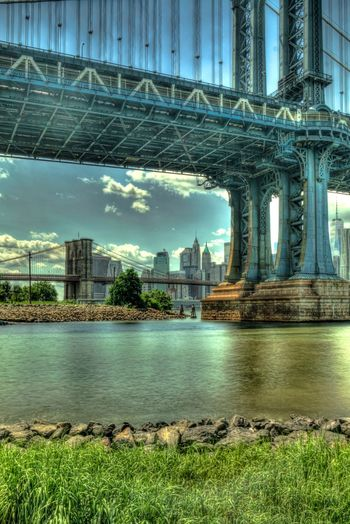 Perspective Architecture Built Structure Bridge - Man Made Structure River Connection Building Exterior Water Day City No People Travel Destinations Outdoors Sky Nature Cityscape Tree Urban Skyline Landscape Hdr_Collection