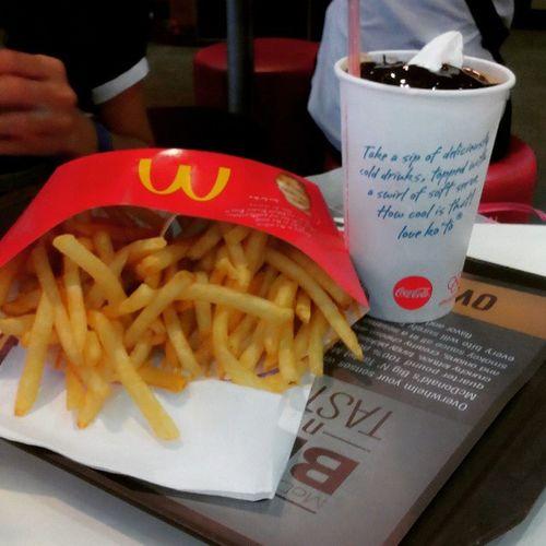 Fries, anyone? WeeklyBFFFries Fries Float