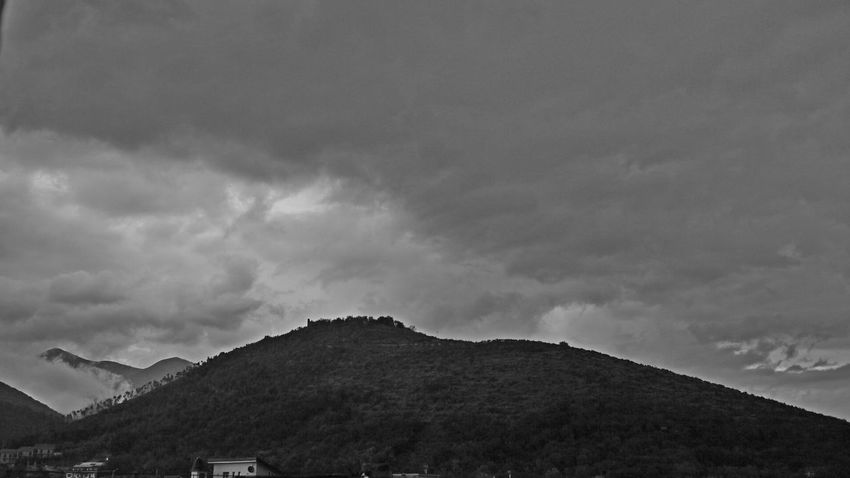 Rocca Architecture Beauty In Nature Campania Cloud - Sky Day Low Angle View Mountain Nature No People Outdoors Scenics Sky