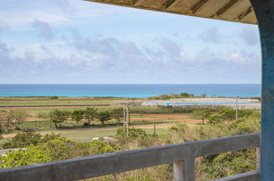 Happiness Holiday Okinawa Vacations Beauty In Nature Cloud - Sky Day Horizon Over Water Island Landscape Miyakojima Nature No People Outdoors Scenics Sea Sky Summer Tranquil Scene Tranquility Tree Turquoise Water