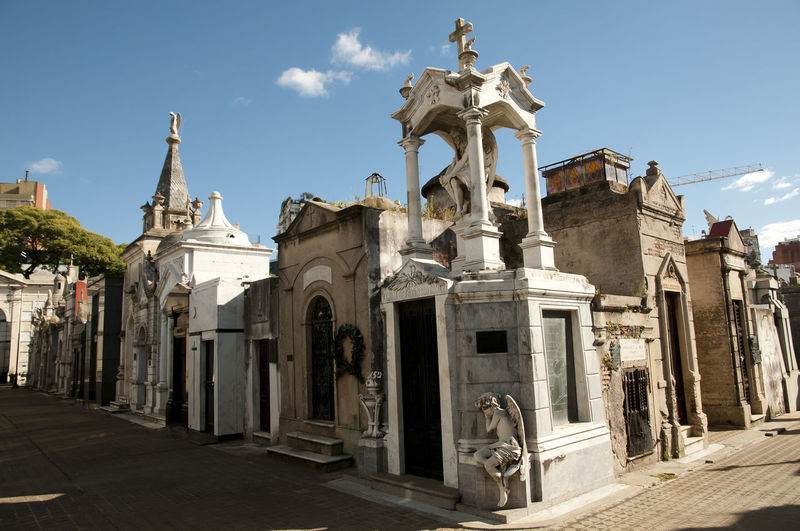 Recoleta Cemetary Buenos Aires City Argentina Cemetary Recoleta Recoleta Cemetery