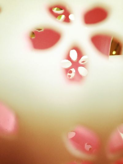 Abstract Defocused Close-up Indoors  Pink Color Millennial Pink