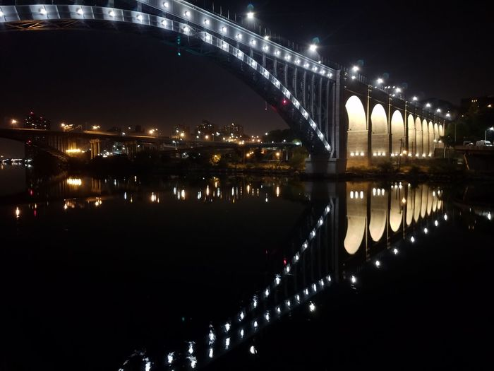 Ultralight Uptown Streams Uptown, NYC Washingtonheights Washington Heights Built Structure Bridge - Man Made Structure Architecture Connection Illuminated Night River Water Engineering Reflection Transportation Low Angle View Building Exterior City Bridge Waterfront Sky Outdoors Scenics Tranquility