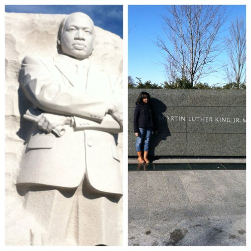 Just Left Martin Luther King Jr. Memorial