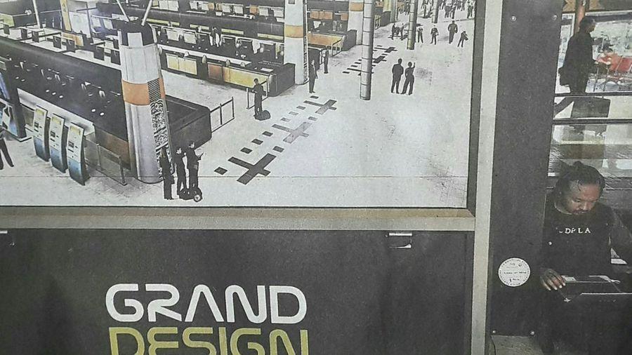"Capturing original picture (Kompas/Hendra A Setyawan) on page 20th of Kompas Daily Newspaper (10/1/15) had titled ""Desain Baru Bandara Soekarno-Hatta"". Desain Bandara Bandarasoekarnohatta"