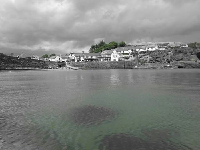 Dunmore East Waterford My Hometown Eyeemphotography Phonephotography Pegs Rock Black And White My Passion My Life Ocean Photography Enjoying Life