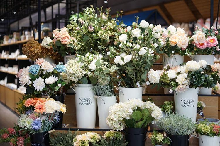 BEAUTY'S DEFINITION Arrangement Flower Flower Market Flower Shop Fragility Freshness Multi Colored No People Retail  Rose - Flower Variation