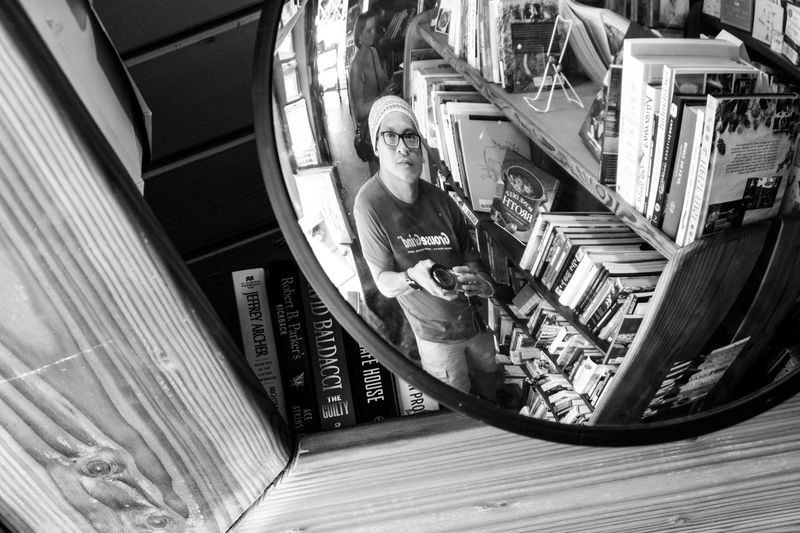 The rare selfie Galiano Island Bookstore, BC Lifestyles Tourism Railing One Person Sitting AdultLeisure Activity Adults Only Day Real People Architecture People Outdoors Vacations Cheerful Straightfromcamera Fujixseries Downtown Eyemphotography Lowkeyphotography Low Angle View Selfie