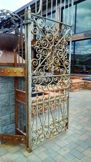 No People Metal Outdoors Day Wrought Iron Close-up Structure Art Piece ArtWork Sedona, Arizona Sedona Doorway Door The Architect - 2017 EyeEm Awards