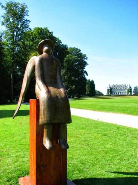 Statue Sculpture No People Travel Destinations Architecture_collection La Hulpe Belgium Park View Brussels❤️ Brussels Belgium Garden Flowers Garden Architecture Garden Photography Nature_collection Gardens Landscapes Cultures Architecture Nature Green Color Outdoors Day Tranquility Nature Collection Building Exterior