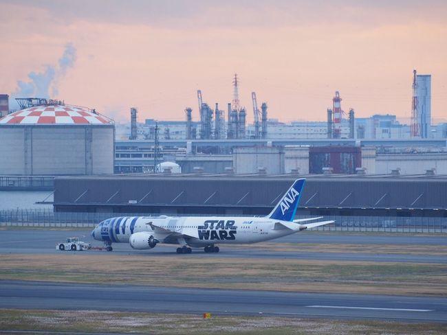 Airplane Starwars Airport Haneda Airport