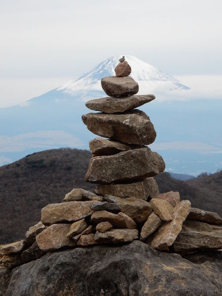 Balance Beauty In Nature Day Focus On Foreground Land Mountain Nature No People Non-urban Scene Outdoors Pebble Rock Rock - Object Scenics - Nature Sky Solid Stack Stone Stone - Object Tranquil Scene Tranquility Zen-like