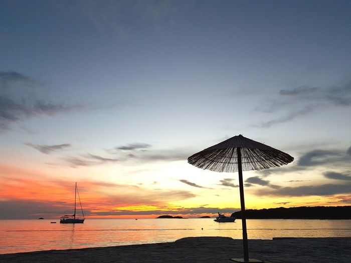 Abends am. Meer Vrsar Croatia Camping Campinglife Adriatic Sea Adriatic Coast Sunset A New Beginning