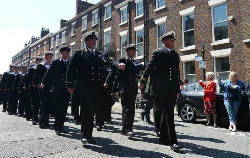 Liverpool Navy Battle Of The Atlantic 70th Anniversary