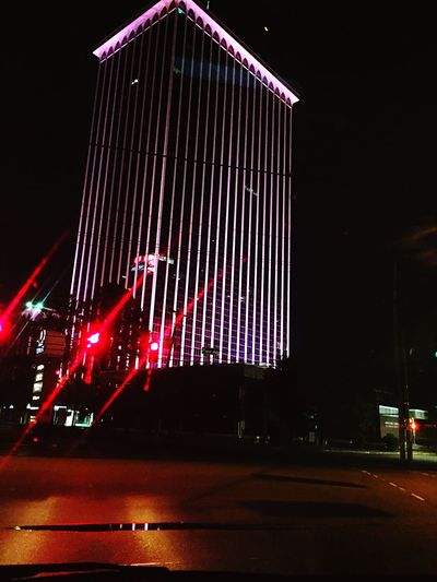 Cities At Night EastMemphis ClarkTower White Station - Eastgate GreaterMemphis The Architect - 2017 EyeEm Awards Colour Your Horizn
