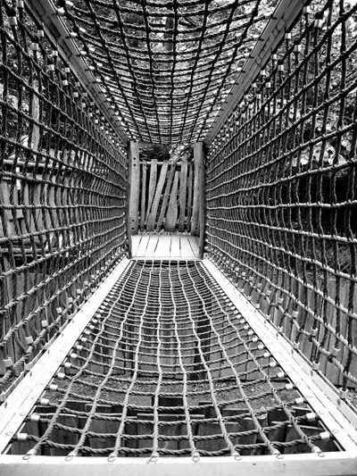 Full Frame Of Rope Net