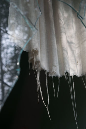 Close-up Cold Temperature Day Hanging Indoors  No People Textile Winter