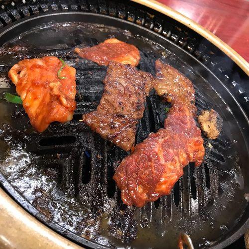 焼肉 焼肉はやし Kyoto ハヤシ 焼肉 Yakiniku Food And Drink Food Freshness High Angle View Still Life Healthy Eating Close-up Japanese Food Meat Asian Food