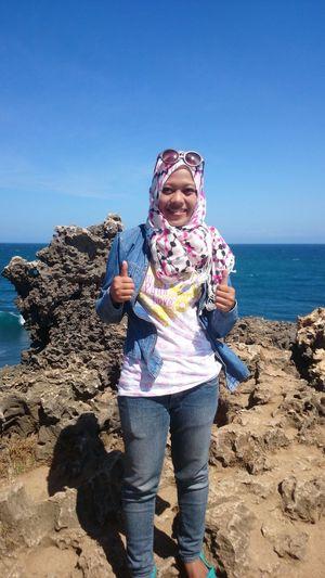 Kukupbeach Gunungkidul INDONESIA