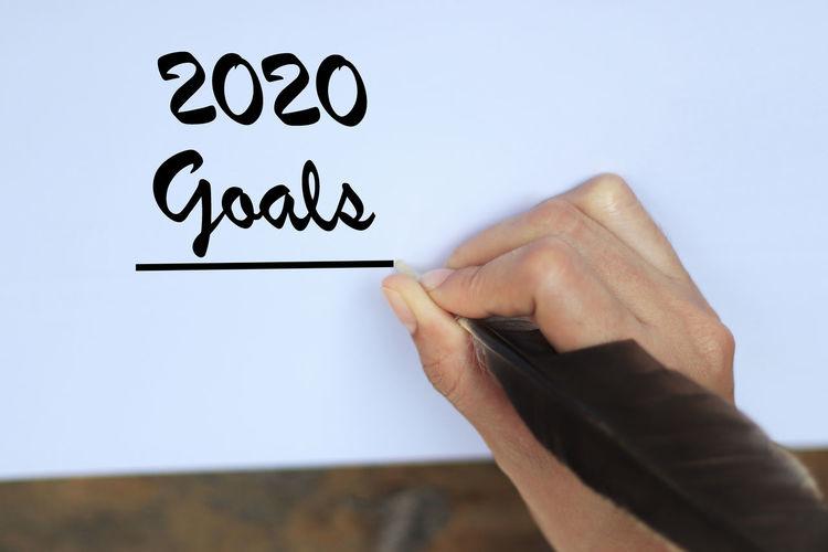2020 Goals On a