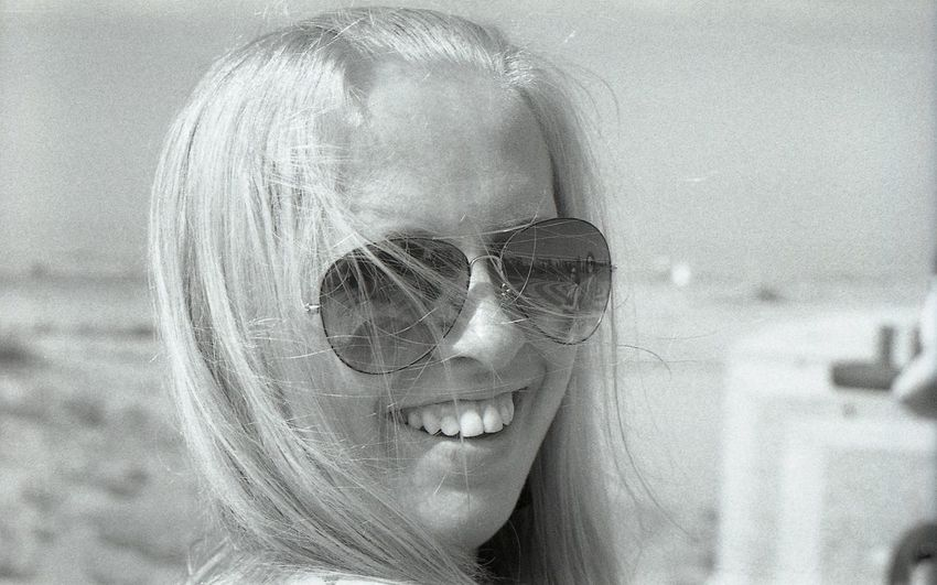 One Person Looking At Camera Real People Portrait Young Women People Smiling Face Smiling Smile Black And White Film Camera Monochrome Filmcamera Film Monochrome _ Collection Black & White Portrait Of A Woman Glasses Monochrome Photography One Young Woman Only Looking Enjoying Life Blonde Day Enjoying Life Enjoying The Sun The Portraitist - 2017 EyeEm Awards The Portraitist - 2017 EyeEm Awards Black And White Friday Press For Progress The Portraitist - 2018 EyeEm Awards The Portraitist - 2018 EyeEm Awards