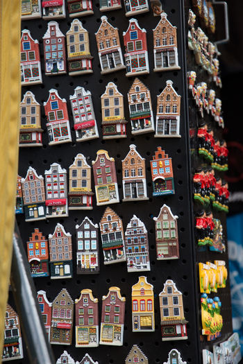 Amsterdam Netherlands Abundance Arrangement Art And Craft Canal Houses Choice Collection Communication Craft Creativity Dutch Architecture Dutch Houses For Sale Full Frame Holland In A Row Indoors  Large Group Of Objects Multi Colored No People Representation Retail  Still Life Tourism Variation