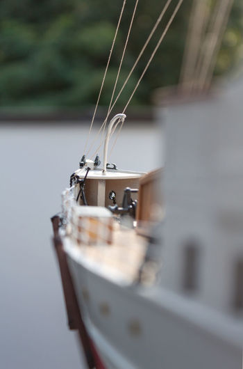 Life Raft Life-saver Lifesaver Amusement  Boat Craftsmanship  Detail Details Focus On Foreground Handicraft Work Handicrafts Hobbies Hobby Home Is Where The Art Is Manual Model Part Of Pastime Selective Focus Ship White White Color Wood Wooden