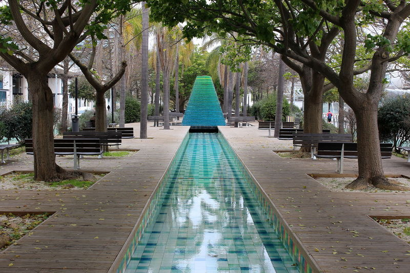 Tree Outdoors Nature No People Day Beauty In Nature Water Travel Tourism Architecture City Lisboa Lisbon Portugal Parque Das Nações Adapted To The City Reflection