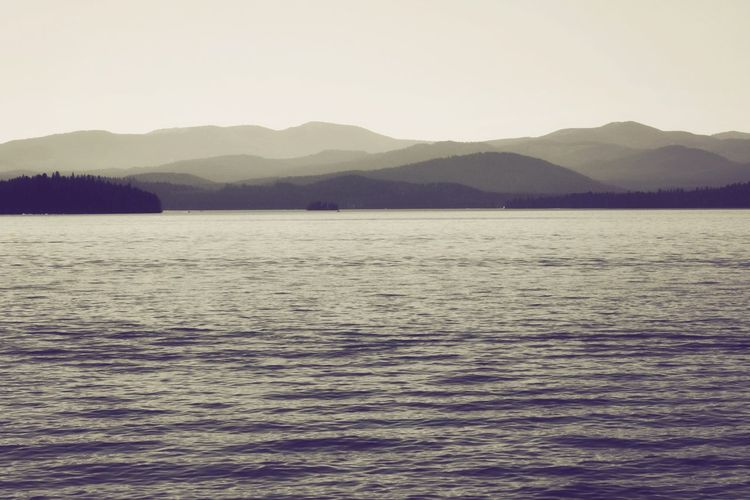 Sepia Hills EyeEmNewHere Landcape Lake Hills Sepia Black And White Water Mountain Tranquil Scene Tranquility Scenics - Nature Beauty In Nature Sky Waterfront Mountain Range Nature Non-urban Scene No People Idyllic Copy Space Outdoors Clear Sky Rippled Day