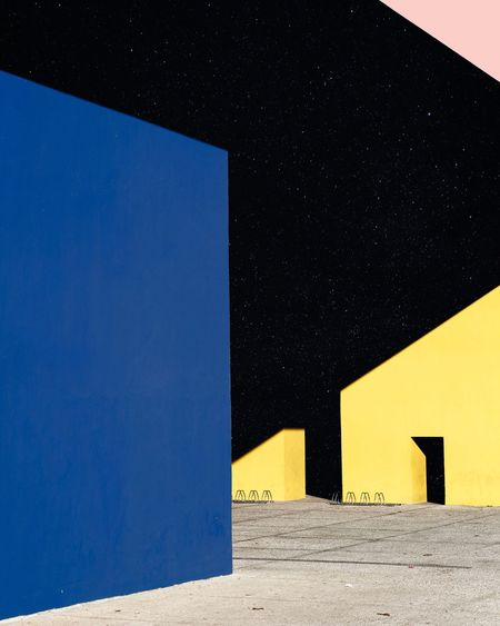 Matthieu Venot l 2018 Outdoors No People Pastel Power Geometric Shape Fine Art Contemporary Art Art Photography Colors Architecture Blue