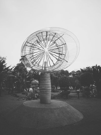 Metal Eye Metalartwork Metalart P20pro P20prophotography Smartphonephotography P20 Pro Landscape Art Metal Merry-go-round Amusement Park Sky Big Wheel Fairground Large Circle Planetary Moon