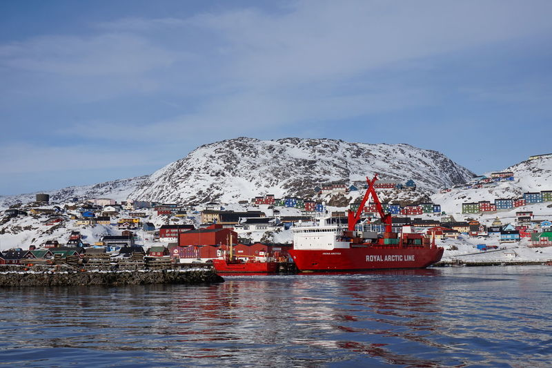Qaqortoq Julianehåb Julianehaab Southgreenland Greenland Kommune Kujalleq Sailing From Qaqortoq To Narsaq