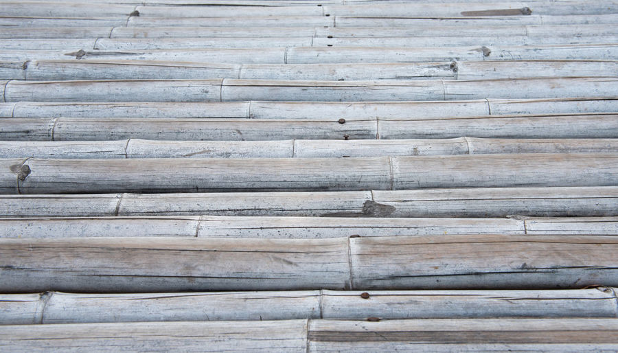 Close-up of wooden planks