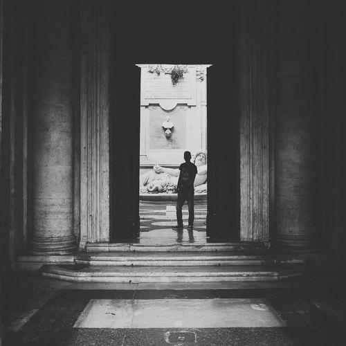 Rome Monochrome Blackandwhite Shadows Darkness And Light EyeEm Bnw