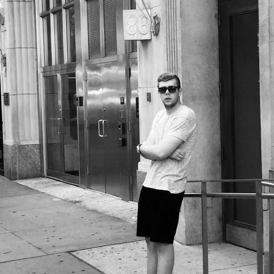 My son is New York Standing Sunglasses Person City Handsome USA Tmh Photo New Passion Denmark The Modern Professional