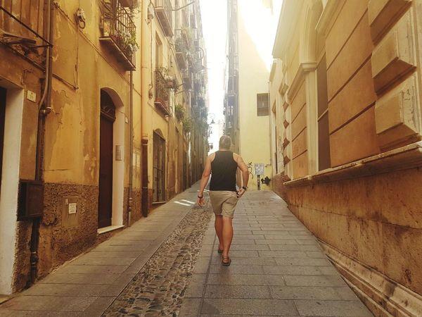 Streets Of Cagliari Sardegna😍😍👍👌 One Man Vacation Shaded