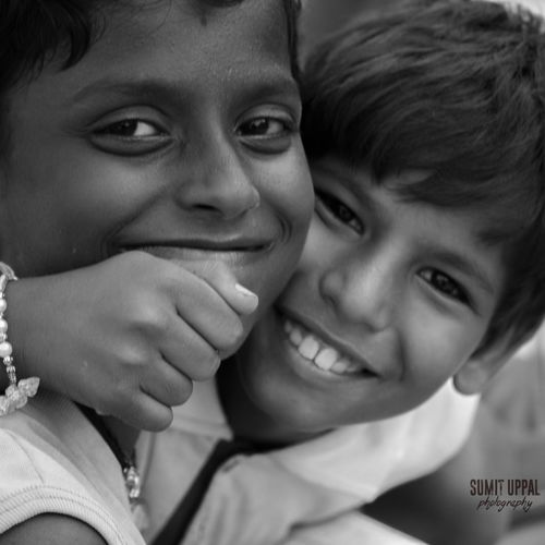 Two People Child Looking At Camera Boys Togetherness Childhood Headshot Males  Portrait People Close-up Bonding Men Son Smiling Happiness Domestic Life Outdoors NGO School Schoolmates