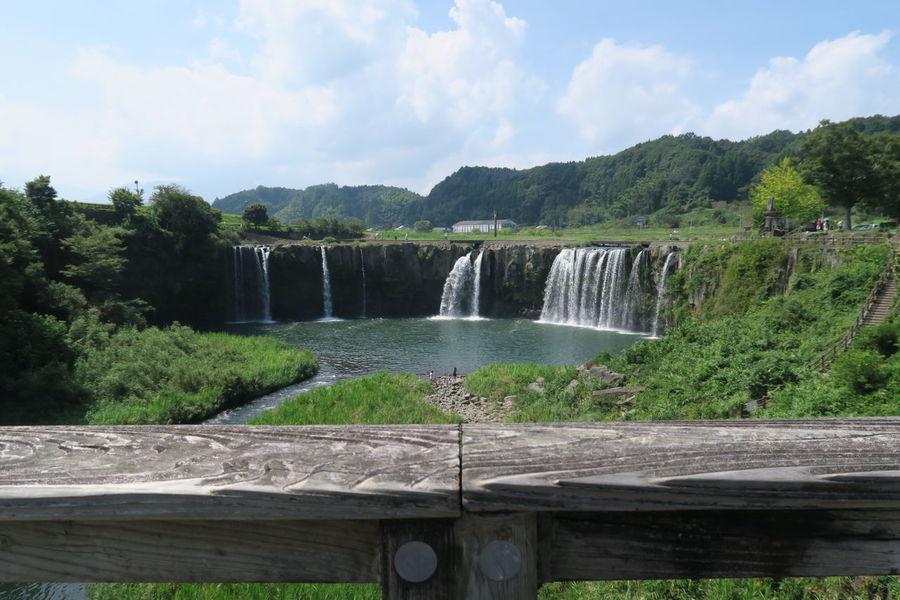 大分 滝 原尻の滝 Waterfall ナイアガラ Niagara Falls Japan Nature