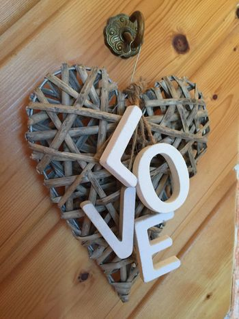 Wood - Material High Angle View Table Indoors  No People Day Art And Craft Creativity Collage ArtWork Love Love ♥ Heart Heart Shape Wodden Wodden Texture Wood Wooden Texture Wooden