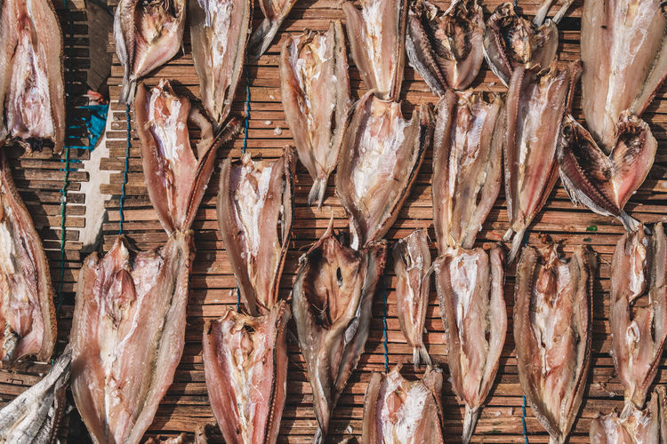 Abundance Animal Day Dried Fish  Dried Fish  Dried Food Fish Fish Market Fishing Industry Food Food And Drink For Sale Freshness Full Frame Healthy Eating Large Group Of Objects Market No People Raw Food Retail  Sale Seafood Vertebrate Wellbeing