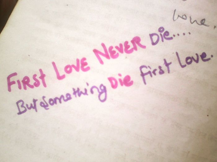 Love never die.... Learning