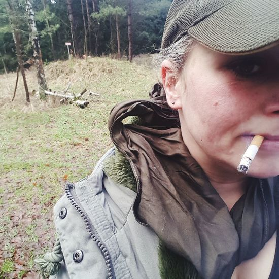 #bushcraft Wandern Lüneburgerheide Outdoor #itsme One Person Leisure Activity Real People Lifestyles Outdoors Day Young Adult